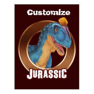 Jurassic postcard