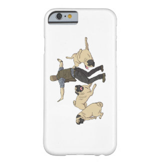 Jurassic Pugs Barely There iPhone 6 Case