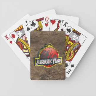 """Jurassic Time """"Stone"""" Cards"""