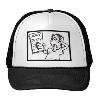 Jury Duty Trucker Hat