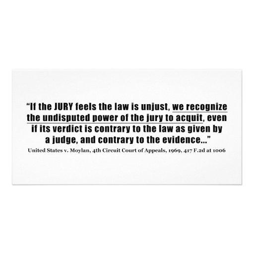 Jury Nullification United States v. Moylan 1969 Custom Photo Card