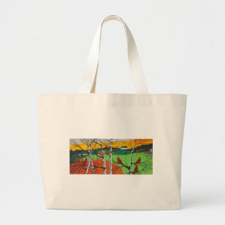 Just A Beautiful Day Large Tote Bag