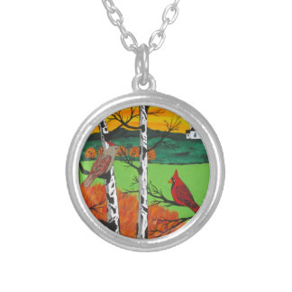 Just A Beautiful Day Silver Plated Necklace