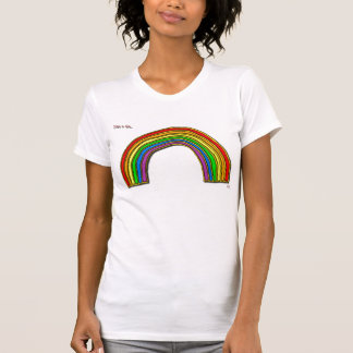 Just a bit... rainbow singlet T-Shirt