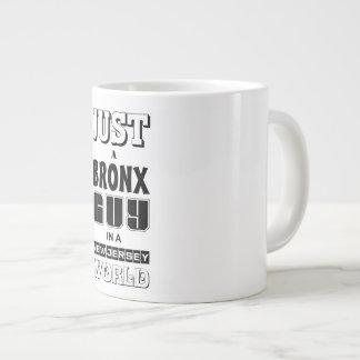 just a bronx guy large coffee mug