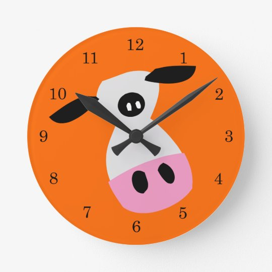 Just a Cow Clock