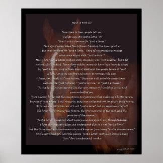 Just a Horse Print