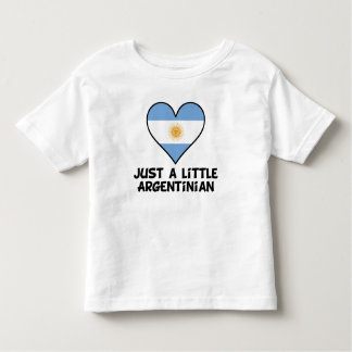 Just A Little Argentinian Toddler T-shirt