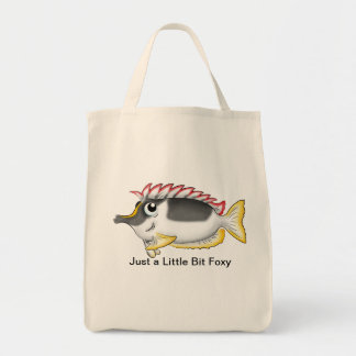Just a Little Bit Foxy Tote