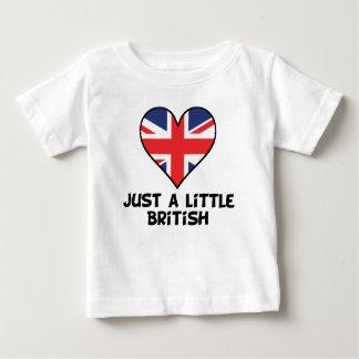 Just A Little British Baby T-Shirt