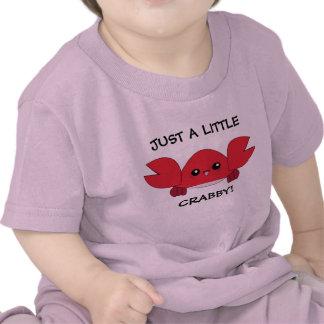 Just a little crabby kawaii infant t-shirt