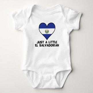 Just A Little El Salvadorian Baby Bodysuit