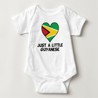 Just A Little Guyanese Baby Bodysuit