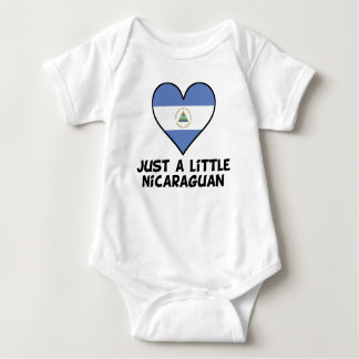 Just A Little Nicaraguan Baby Bodysuit