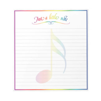 Just A Little Note Notepad