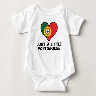 Just A Little Portuguese Baby Bodysuit