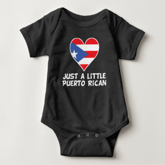 Just A Little Puerto Rican Baby Bodysuit