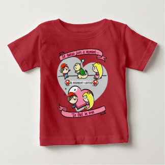 Just A Moment To Fall In Love Baby T-Shirt