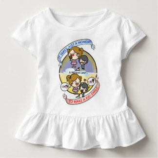 Just A Moment To Make A Kid Smile Toddler T-Shirt