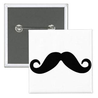 just a mustache button