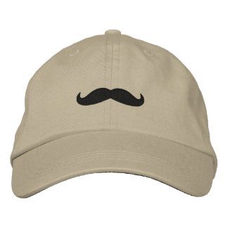 Just a Mustache Embroidered Hat