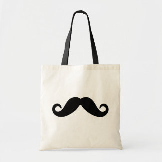 just a mustache tote bag
