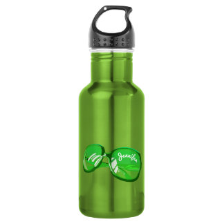 Just A Pair Of Glasses - Monogrammed 5 532 Ml Water Bottle