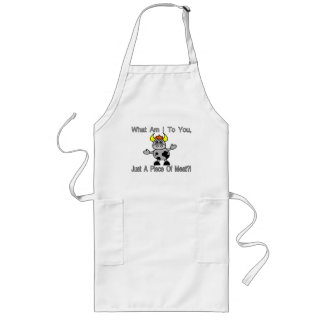 Just A Piece Of Meat Long Apron