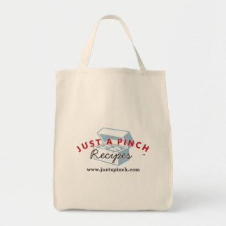 Just A Pinch Recipes Tote Bag