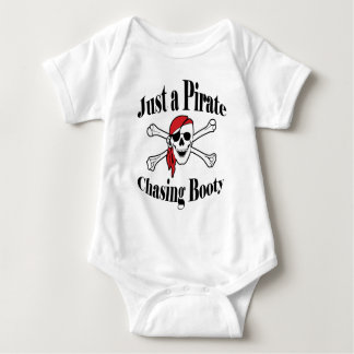 Just a Pirate Chasing Booty Baby Bodysuit