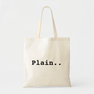 Just a plain old bag.. tote bag