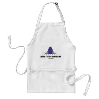 Just A Statistical Feeling (Statistical Humor) Aprons
