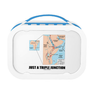 Just A Triple Junction Afar Triangle Geography Lunch Box