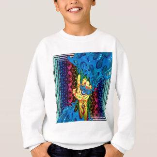 just a trippy hand sweatshirt