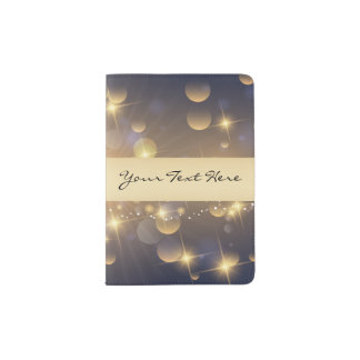 Just Add Your Name | Celestial Starburst Passport Holder