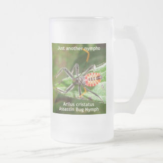 Just Another Nympho Frosted Glass Beer Mug