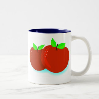 Just Apples Two-Tone Coffee Mug
