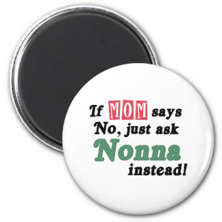 Just Ask Nonna Magnet