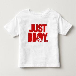 just bboy - red toddler t-shirt