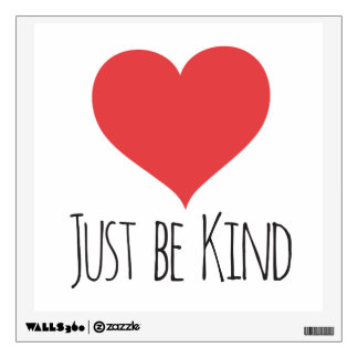 JUST BE KIND | decal