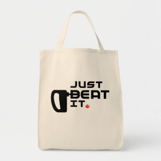 Just Beat It! Tote Bag