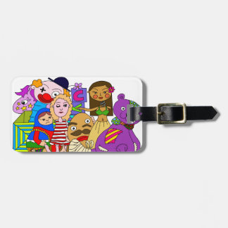 Just because you think you're worthless, doesn't m luggage tag