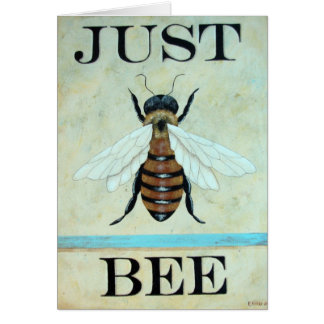 Just  Bee Art Card