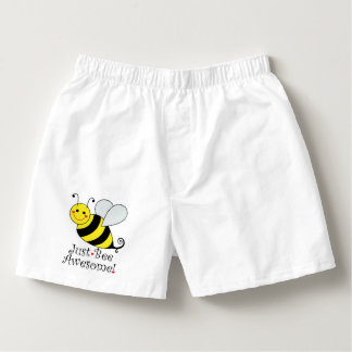 Just Bee Awesome Bumble Bee Boxers