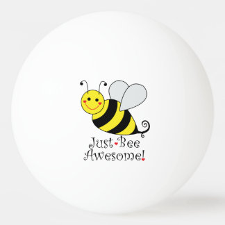 Just Bee Awesome Bumble Bee Ping Pong Ball