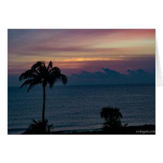 """Just Before Sunrise"" Card"