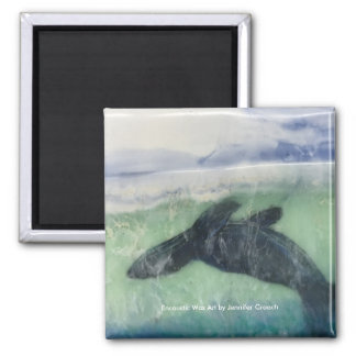 """""""Just below the Surface: Seal""""  Art Magnet"""