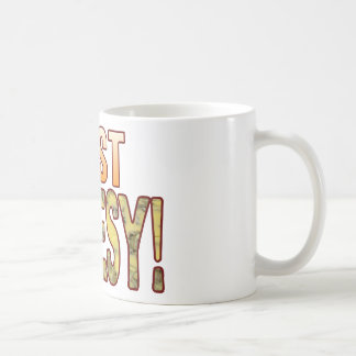 Just Blue Cheesy Coffee Mug