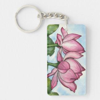 Just Breathe Acrylic Key Chain