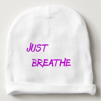 Just breathe. baby beanie